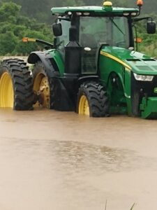 high water in chicot county